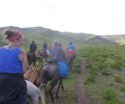 Kochkor Trek cheval